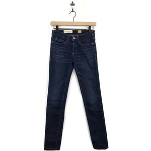 Anthropologie Pilcro Dark Wash Skinny Jeans 25
